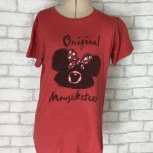 Disney's Original Mouseketeer Graphic Tshirt Small